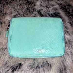 Auth Tiffany & Co. Tiffany Blue Zippered Wallet